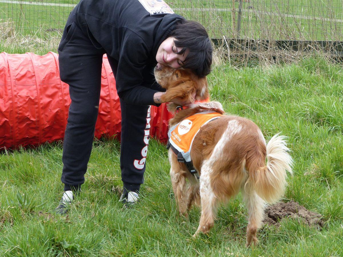 Titouf a fait partie du programme de pet-therapy